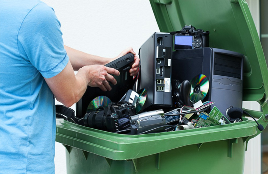 how e-waste is recycled